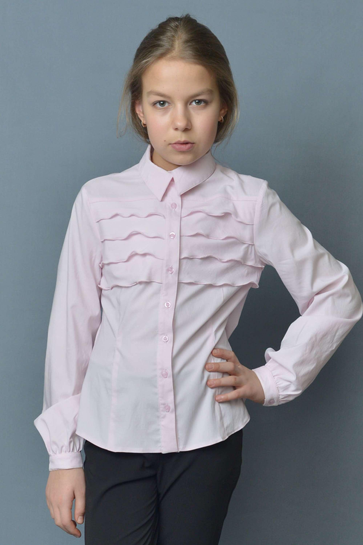 Блузка для девочки розовая в омске